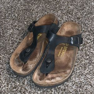 Birkenstock thong sandals size 39